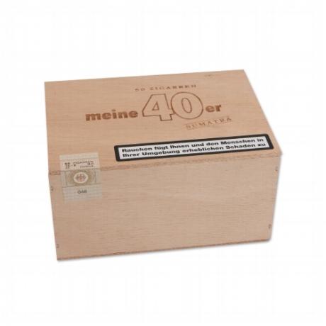 Meine 40er Sumatra Zigarren Holzkiste