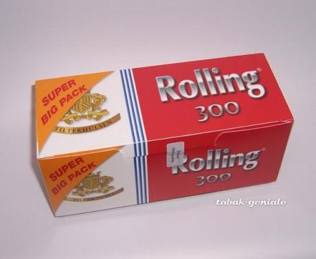 Rolling Zigarettenhülsen Sparpackung mit 300