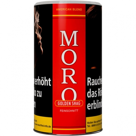 Moro Golden Shag rot 200g