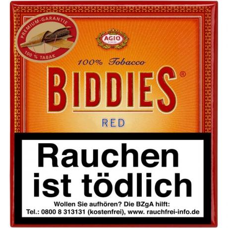 Biddies Red 20er Schachtel