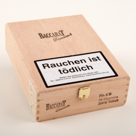 Baccarat Premium No.6 Brasil 100% Tabak 20er Kiste
