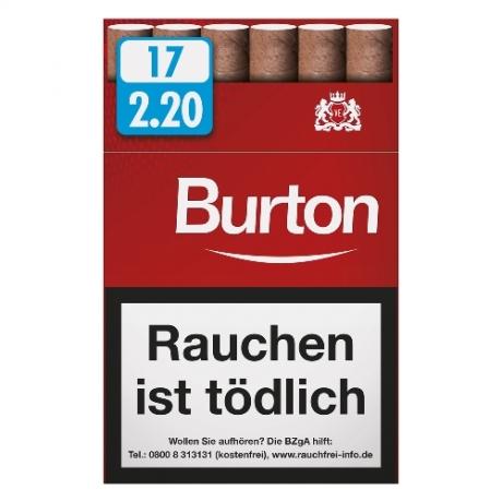 Burton Orginal Naturdeckblatt Filter Cigarillos