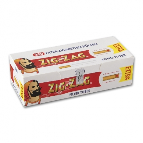 ZIG ZAG Extra Zigarettenhülsen 200