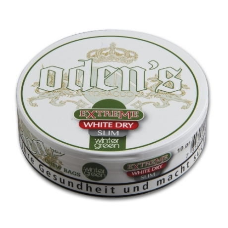 Odens Wintergreen Extra White Dry Slim