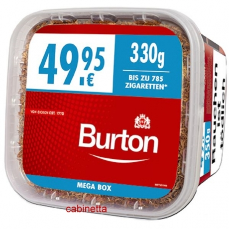 Burton Volumen Full Red XXXL 350g Eimer