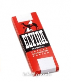 Elvira Tradition Rot Zigarettenpapier 25×50
