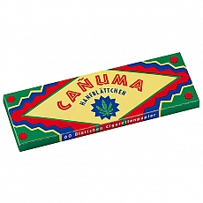 Canuma Hanfpapier Zigarettenpapier 50 Blatt