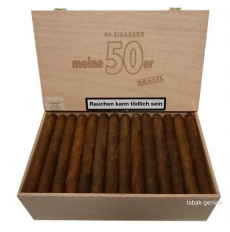 Meine 50er Brasil Zigarren Holzkiste