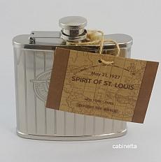 Spirit of St. Louis Flachmann Taschenflasche Edelstahl 150ml