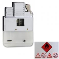 Gaseinsatz für Benzinfeuerzeuge Jetflamme