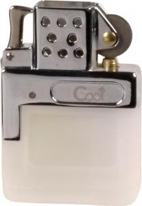 Gaseinsatz für Benzinfeuerzeuge mit Normalflamme