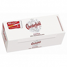 Chesterfield Extra Red Hülsen 250 Stück