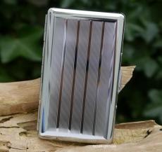 Jean Claude Zigarettenetui 100mm Super SLIM -Format Streifen