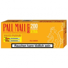Pall Mall Allround Full Flavour XTRA Hülsen