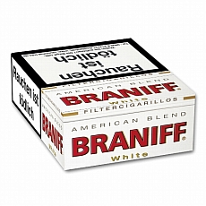 Braniff White Naturdeckblatt