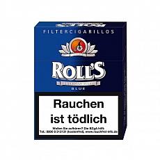 Rolls Blue Naturdeckblatt 23er Packung