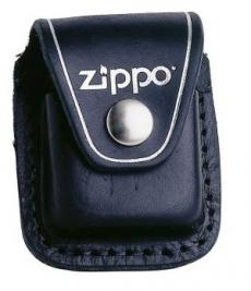 Zippo Ledertasche schwarz mit Gürtelschlaufe