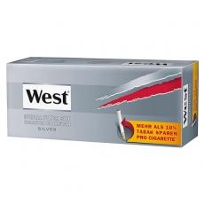 West Silver Special Size Zigarettenhülsen 250