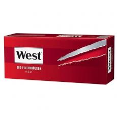West Red Zigarettenhülsen 200