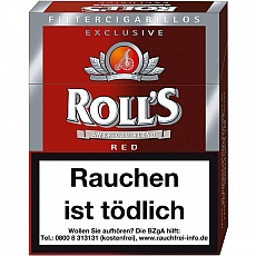 Rolls Exclusiv Red Naturdeckblatt