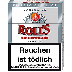 Rolls Exclusiv White Naturdeckblatt