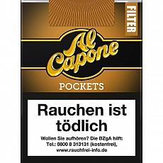 DA Al Capone Pockets Gold Filter 18 Cigarillos