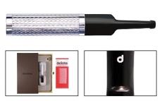 DENI Spitze silber Raute mit Slim Adapter und 10 Kieselfiltern