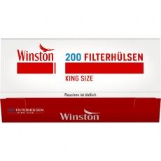 Winston Filterhülsen 200 Stück Packung