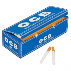 OCB Blau Hanf Zigarettenhülsen 200