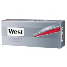 West Silver Zigarettenhülsen 200