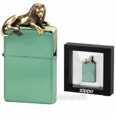 ZIPPO Chameleon Golden Lion on Top limitiert 500 Stück