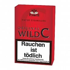 Original Black C (Wild Cherry) 20 Filterzigarillos Naturdeckblatt