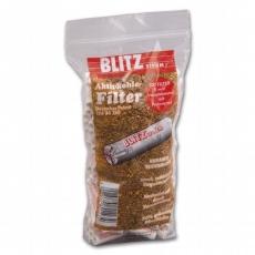 Blitz Pfeifenfilter Aktivkohle 9mm 200 Stück