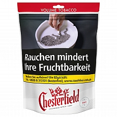 Chesterfield Volume Tobacco Red 170g Giga Beutel