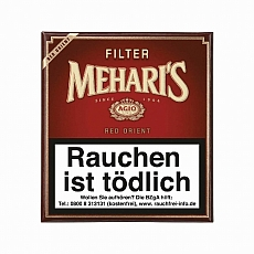 Meharis Red Orient Filter 20 Stück