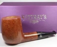 Rattrays Pfeife 1328 natural Billiard glatt kurze Giant 9 mm