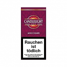 Candlelight Red (Cherry) Filter Cigarillos 10 Stück
