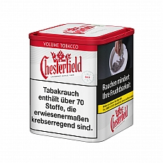 Chesterfield Red Volume Tobacco 75g Dose