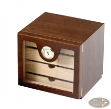 Humidor Schrank Holz Palisander-Dekor 4 Schubfächer