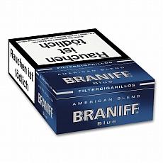 Braniff Blue Naturdeckblatt