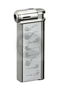 Sarome Pfeifenfeuerzeug PSP-13 silver super satin