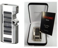 Sarome BM5-04 black cloisonne silver Jet Feuerzeug