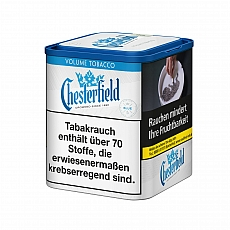Chesterfield Blue Volume Tobacco 75g Dose