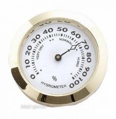 Hygrometer goldin Durchmesser 37 mm