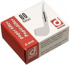 Denicotea Pfeifenfilter 4 mm 60 Stück