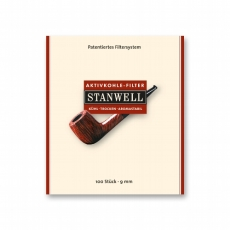 Stanwell Aktivkohlefilter 9mm 100 Stück