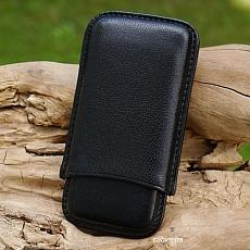 Zigarilloetui Leder noir 505