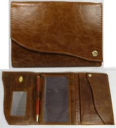 Geldbörse Damen Kavatza Tabba braun 11.5×16.5cm
