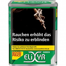 Elixyr Green 115g ( Menthol )