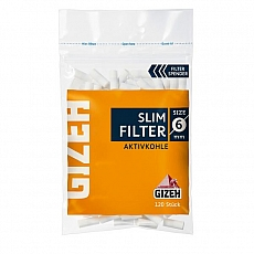 Gizeh Slim Filter Aktivkohle 120 St.